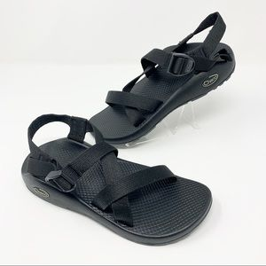 CHACO Z/Cloud Strappy Sandals Black Women's Size 8